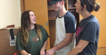 LC 'welcoming committee' rolls out red carpet for incoming freshmen