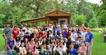 Fifteen South Korean children make decisions for Christ during Camp USA