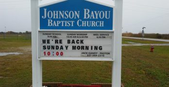 Two hurricanes and nine years later, Johnson Bayou Baptist Church moves back into building at original location