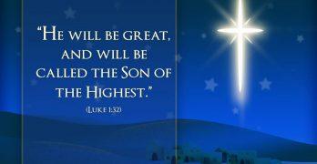 A special Christmas prayer