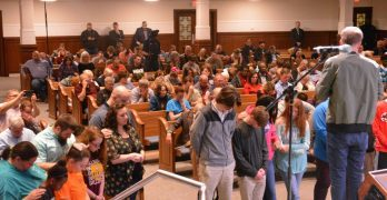 Ten youth accept Christ during 2018 ECON student night