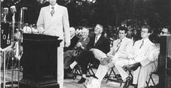 Student recalls Graham's  visit to Louisiana College