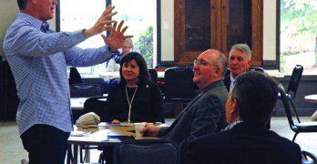 U.S. Rep. Ralph Abraham, evangelist Rick Gage  encourage CENLA pastors, politically, spiritually