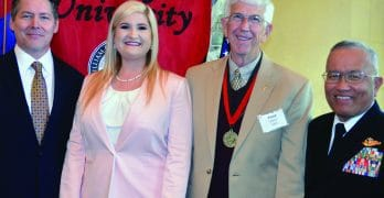 Harris inducted into William Carey University Hall of Fame
