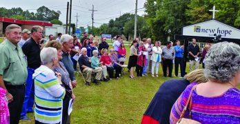 Baptism service ignites revival at New Hope