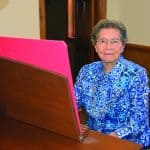 Alto Baptist celebrates organist's 70 years of leading by serving
