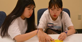 Korean children experience Louisiana, Gospel at Camp USA