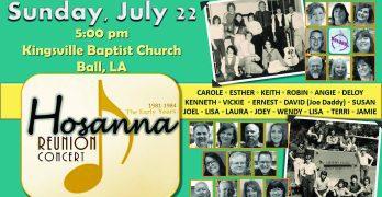 LC's Hosanna worship band announces reunion concert