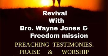 Revival at Calvary Baptist Church, Forest Hill
