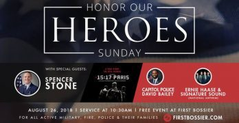 Scalise's rescuer, Paris train hero  will be honored at FBC Bossier