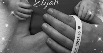 Surrounded by family, friends and prayers, baby Elijah passes away