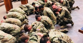 Army base sees 1,459 salvations since March