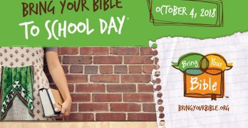 Students urged to take Bibles to school Oct. 4