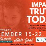 Georgia Barnette provides vital resources for urgent Gospel need