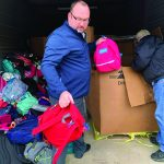 Backpacks to needy filled with gifts from Santa, Christ's love