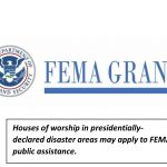 Churches, members eligible for FEMA grants