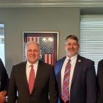 U.S. Rep. Scalise meets with Louisiana Baptists