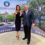 Letlow visits Louisiana College, says higher ed success equals state's success